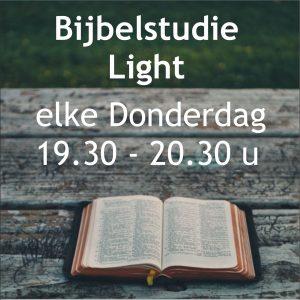 Bijbelstudie Light